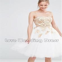 Off The Shoulder Tulle Appliques Short Bridesmaid Dresses A Line Knee Length Bridesmaid Dress Draped Vestido De Festa