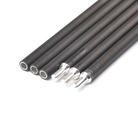 6 12 pcs x10 carbono e aluminio