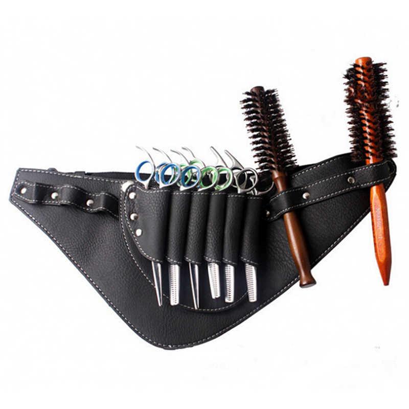 1PCS Strumento di Parrucchiere della custodia per Armi della Cassa Del Sacchetto Con La Cinghia di Vita del Sacchetto di Parrucchiere Barbiere Capelli Cesoie Borse Forbici Rivetto Pinze Borsa