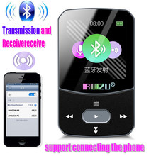 New RUIZU X51 Sport Bluetooth4.2 MP3 Player Clip Mini Support transmission and reception FM, support connecting the phone(China)