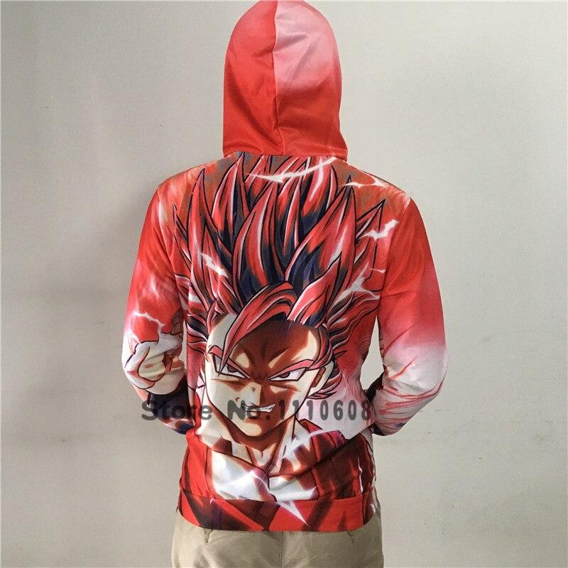 Plstar Cosmos Dragon Ball Z Jacket Super Saiyan 3d Print