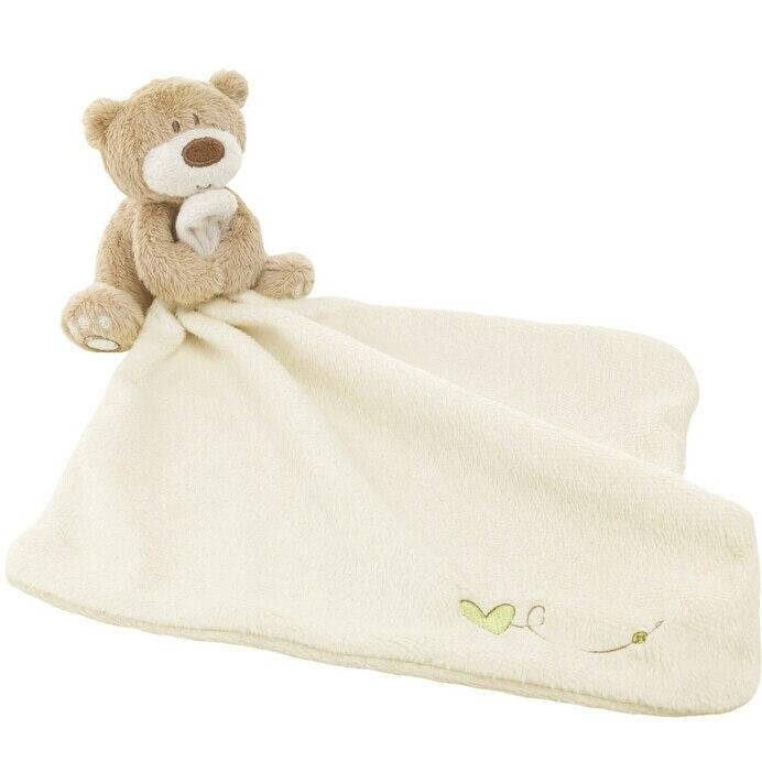 30cm Infant Reassure Towel Newborn Towel Bear Blankie Baby Toy Appease Towel Newborn Gift Baby Educational Plush Toy