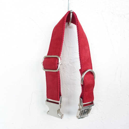 Mềm Dog Collars Suede Đa-Màu Sắc Thời Trang Brand Cổ Con Chó Collar & Leash Set Bán Buôn Vật Nuôi Cổ Áo cho Cat chó Chihuahua Yorkie XL