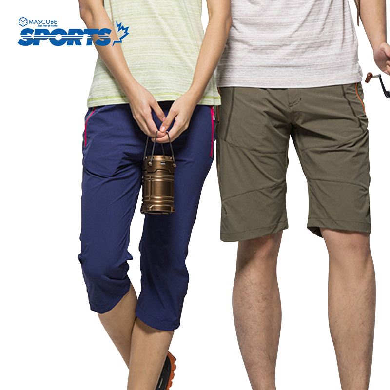 Men Women Breathable Summer Fishing Hiking Climbing Shorts Quick Dry Slim Leisure Short Pants Hot Selling  цена и фото