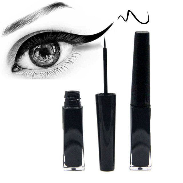 Waterproof Liquid Eyeliner Pencil Super Black Eye Liner Pen Long-lasting Makeup Professional Smudge-proof Eyeliners Cosmetics