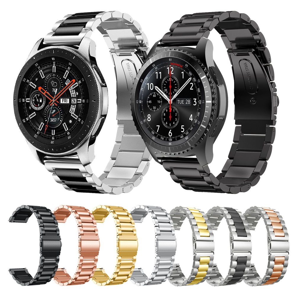 Metal Stainless Steel Band For Samsung Galaxy Watch 46mm 42mm Bracelet Strap For Gear S3 Classic Frontier 22mm Watchband