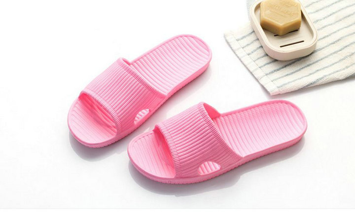 Cheap Price New Summer Home Bathroom Slippers Indoor Anti Slipper Soft Bottom Family Woman Man Slippers (3)