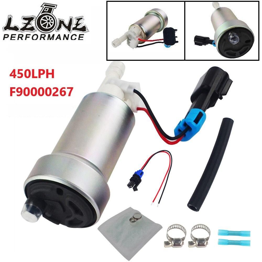LZONE E85 Racing High Performance internal Fuel Pump 450LPH F90000267 Install Kit JR FPB007