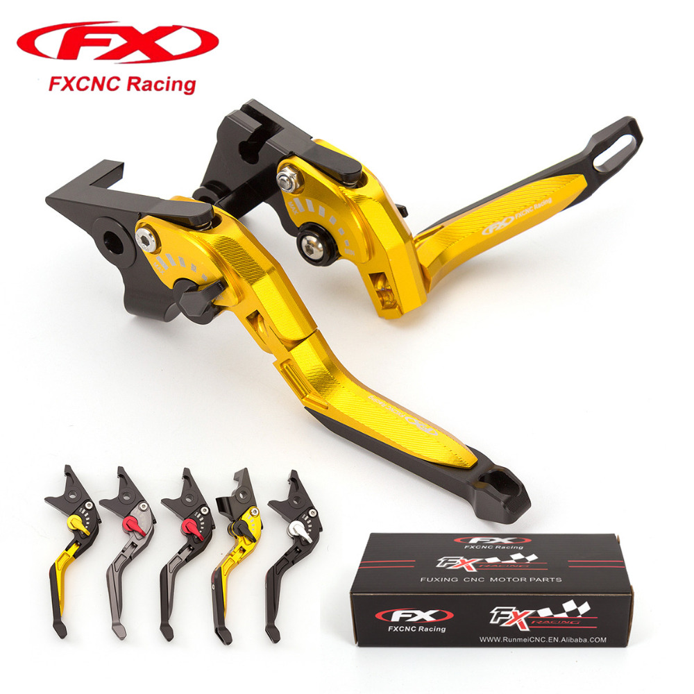 FX CNC Adjustable 3D Rhombus Motorcycle Folding Extendable Brake Clutch Levers Fit For DUCATI HYPERMOTARD 939 SP 2016 - 2017 for ducati monster 821 hypermotard 821 strada 14 15 motorcycle cnc billet aluminum folding extendable brake clutch levers