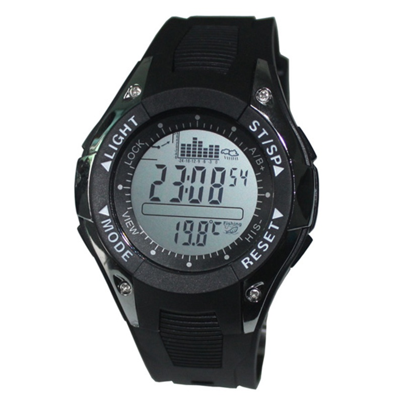 New Design Fishing Altimeter Barometer Thermometer Watch Mens Watch Outdoor Sports Digital Watches Men Climbing Hiking
