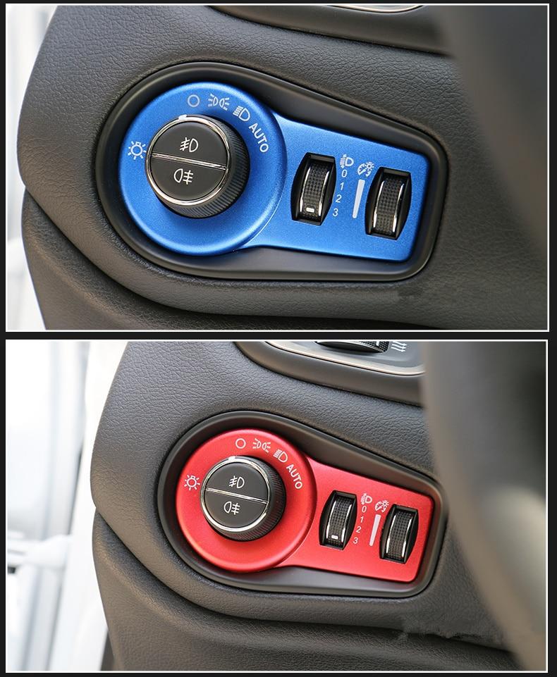 Samolepka na auto vypínač na auto, vhodná pro Fiat 500X 2014 2015 2016 Stylingové doplňky do auta