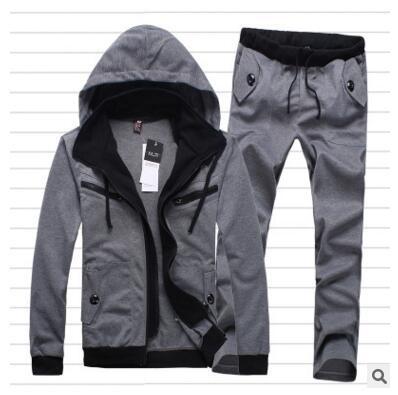 New Tracksuits Fashion Brand Men's Hoodies Men Sweatshirt +pants Suits Men Mens Sporting Suits Sportswear Mens Hoodies