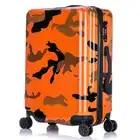 Nueva caja colorida del carro del viaje, bolso de la maleta del equipaje de ruedas de la manera, PC de las mujeres + transporte del ABS, caja multirueda para hombre con bloqueo