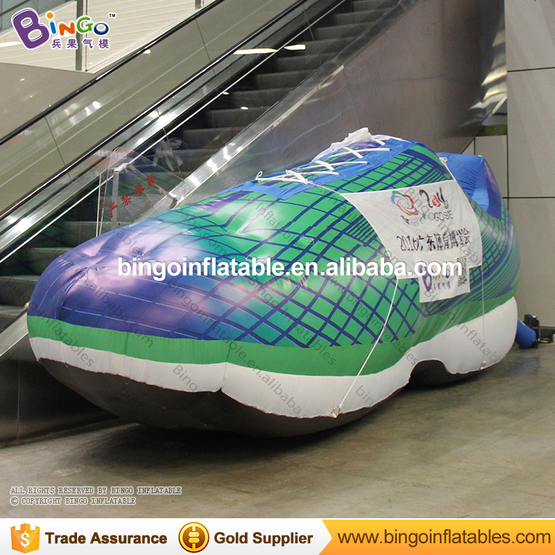 Advertising used 5.2M inflatable sport shoes with blower for event, party inflatable toyAdvertising used 5.2M inflatable sport shoes with blower for event, party inflatable toy
