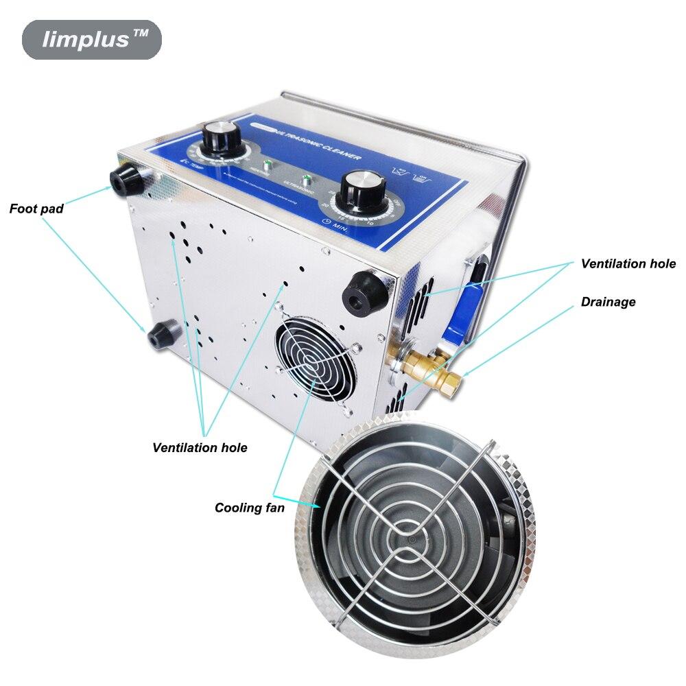 Limplus 10L ուլտրաձայնային մաքրող 200W - Կենցաղային տեխնիկա - Լուսանկար 5