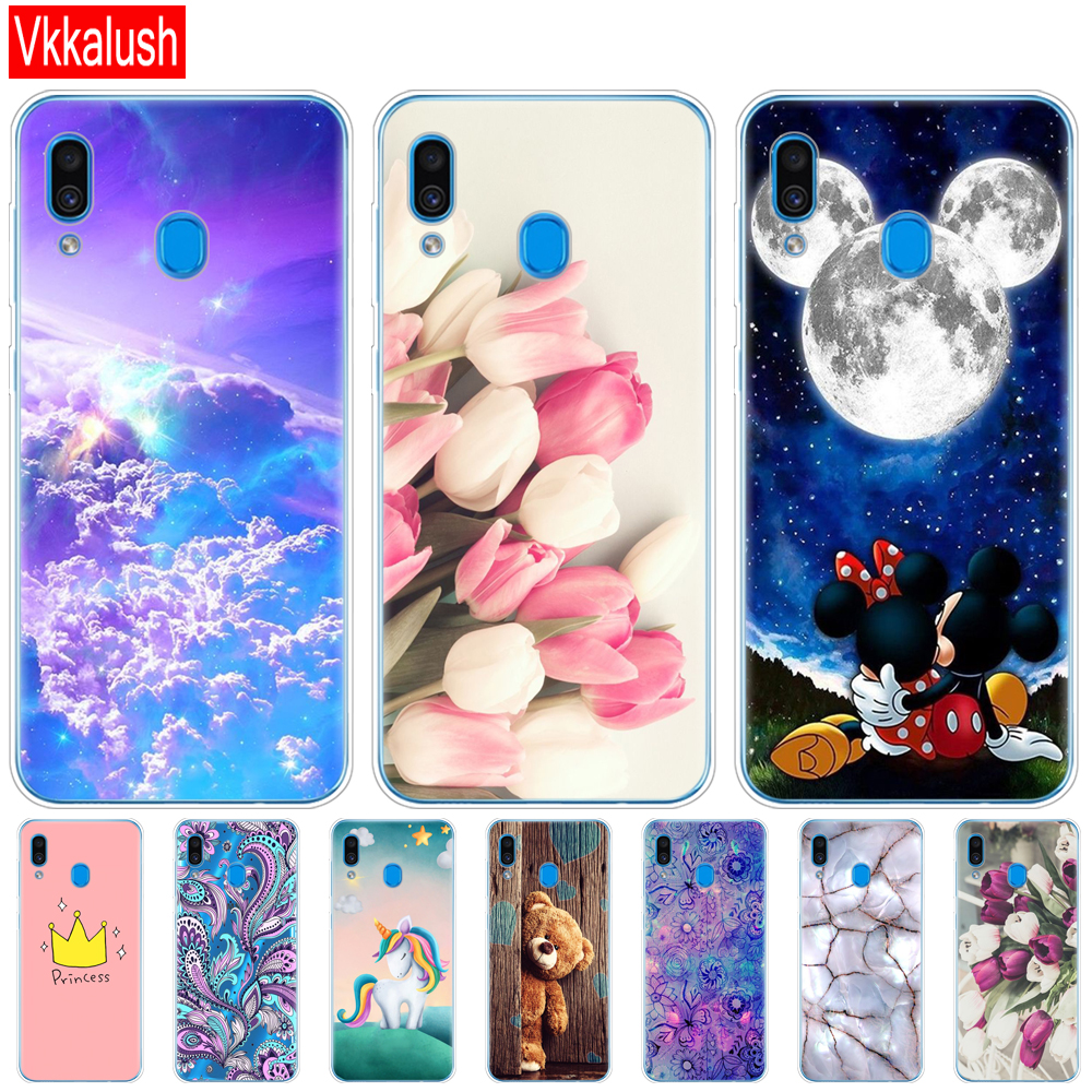 Case For <font><b>Samsung</b></font> <font><b>Galaxy</b></font> <font><b>A20</b></font> Case A20E Silicon Back Cover For <font><b>Samsung</b></font> <font><b>A20</b></font> A 20 2019 A205F A20E A202F Cover Soft Fundas Bumper image