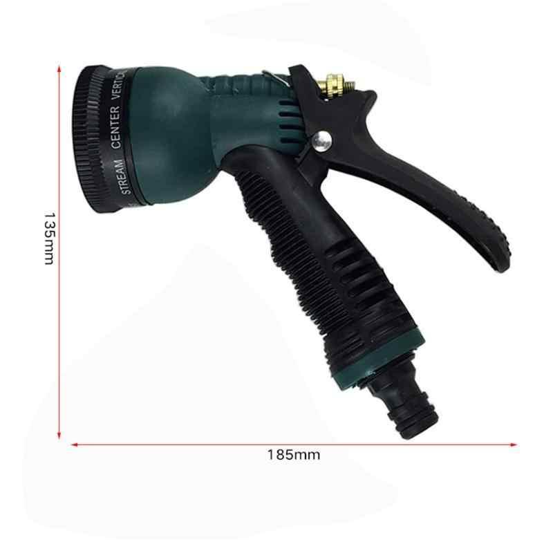 Plastic Tuin Wasstraat Waterpistool 7 Patroon Hoge Druk Huishouden Watering Vehicle Cleaning Wassen Water Strooi Gereedschap
