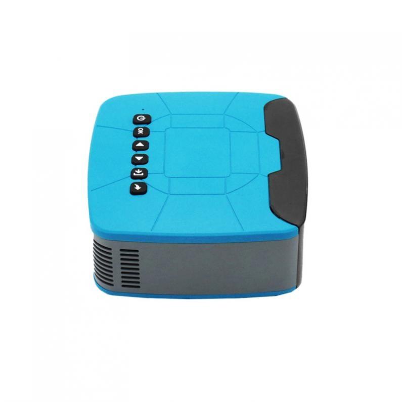500 Lumen U20 universel 116 pouces Portable Mini projecteur LED pour la maison et le divertissement avec un Design de mise au point courte - 4