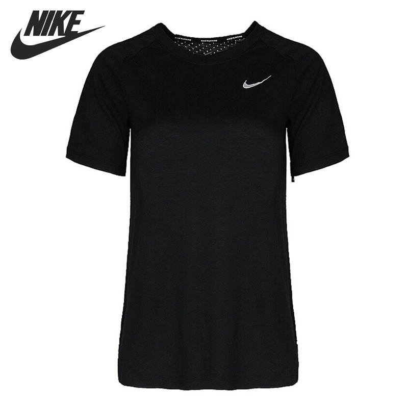 Original New Arrival 2018 NIKE TAILWIND TOP SS Women's T-shirts short sleeve Sportswear cropped wide sleeve top