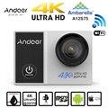"""Andoer c5 pro 4 k wi-fi câmera de ação de esportes a12s75 adotar para ambarella 1080 p 16mp 2.0 """"LCD 170 Lente Grande Angular ir Mini Câmera pro"""