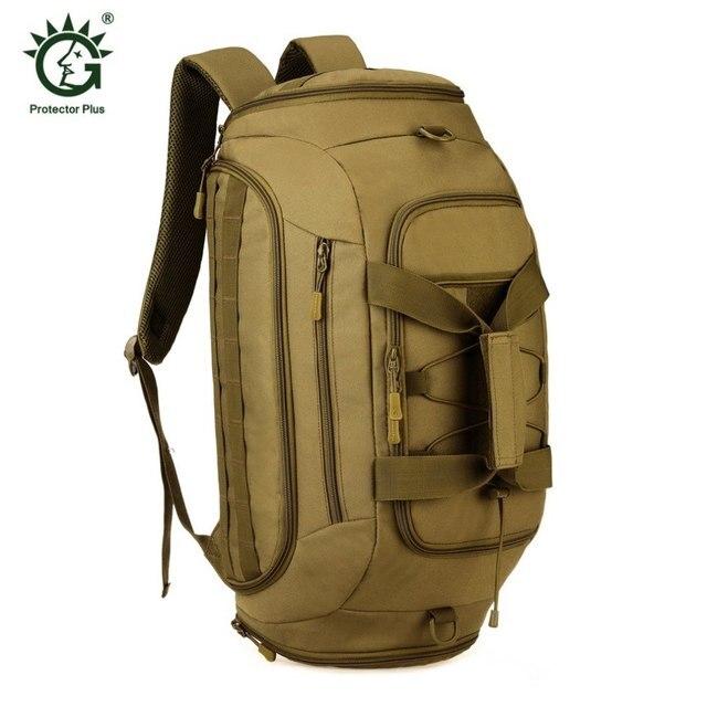 35L Multifunctional Military Tactics Travel Bag Large Capacity Luggage  Travel Duffle Bags Handbags Camping Backpack e4b7d33fa6a22