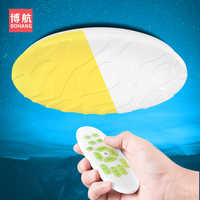 Modern intelligent LED ceiling lamp foyer dining room kitchen surface installation remote control dimmable AC 220V