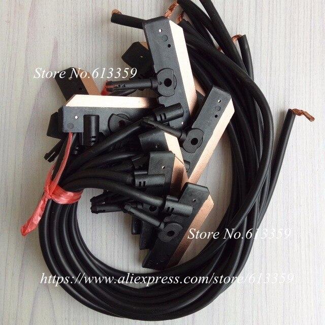 10 ADET KY 3906 KY 3903 Karbon Fırça N çift kol toplayıcı raf karbon fırça/set elektrikli fırça/slayt/ toplayıcı blok