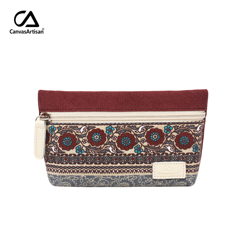 Canvasartisan women's change coin purse canvas vintage floral clutch holder female retro small simple purses phone pocket bags canvasartisan brand womens change coin purse wallet clutch holder vintage floral cotton canvas female small purses phone pockets