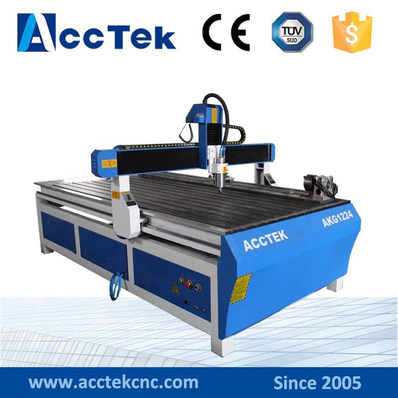 3d Wood cnc router foam cutting cnc milling machine Mach3 controller system 4*8feet
