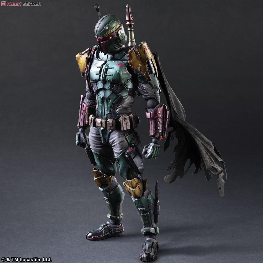 OUT Play Arts Kai Authentic Square Enix Variant Star Wars BOBA FETT Action Figure