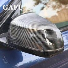 Car-Styling For BMW X5 G05 2019 Car Accessories Carbon Fibre Side Rearview Mirror Cover Trims 2pcs стоимость