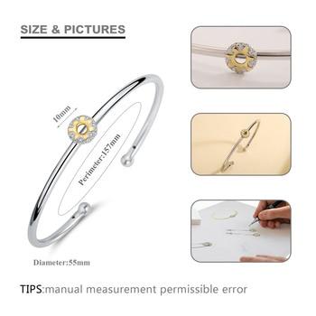 925 Sterling Silver Adjustable Bracelet 4