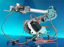 Abb industrial robot model 7 DOF robot arm frame All-aluminum robotic arm rack 7 servos Rotating base