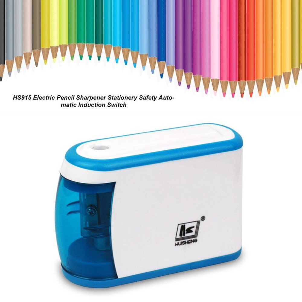 Electric Pencil Sharpener Innovative Automatic Smart Double Hole Primary School Stationery Pencil Sharpener Office Pencil Pencil Sharpeners Pens, Pencils & Writing Supplies