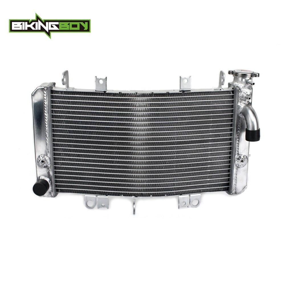 BIKINGBOY Алюминий ядер 1 компл. Двигатель водяного охлаждения Cooler радиаторы радиатор для SUZUKI GSX 1300 R Hayabusa 2008 2009 10 11 12