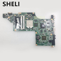SHELI FOR HP laptop motherboard DV6 DV6 3000 series 603939 001 Mobility Radeon HD 5650 DDR3 Mainboard daolx8mb6d1 Free Shipping