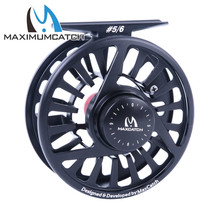 Maximumcatch Fly Fishing Reel 3-8WT Fly Reel Machined Aluminium Micro Adjusting Drag Fly Fishing Reel