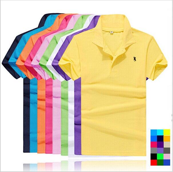 2015 small horse new polo ralph men cotton mens polo for All polo shirt brands