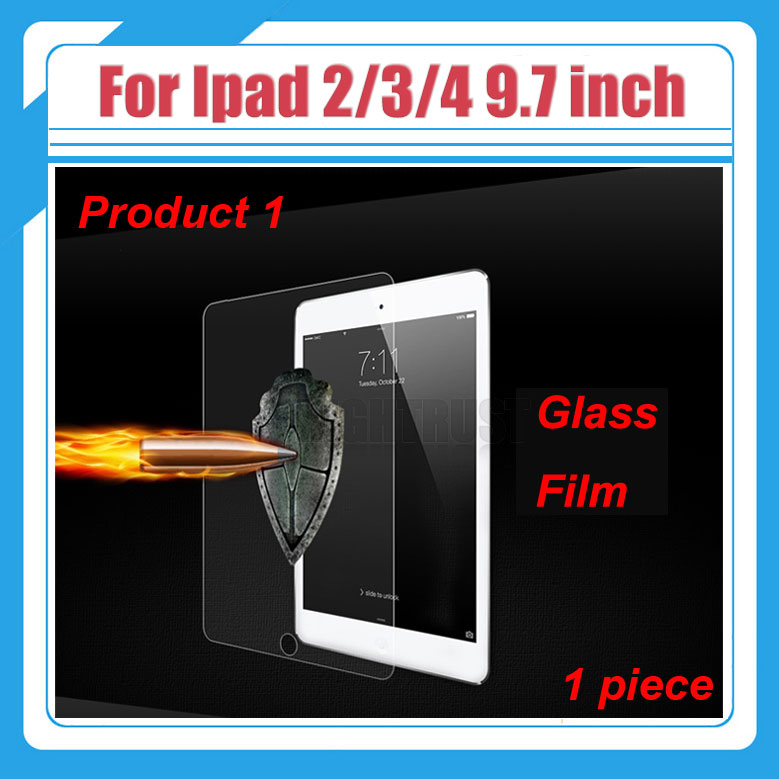 9H Explosion-Proof Tempered Glass Film for Ipad 2 3 4 9.7 A1460 A1459 A1458 A1416 A1430 A1395 A1396 A1397 A1403 9.7 inch Tablet