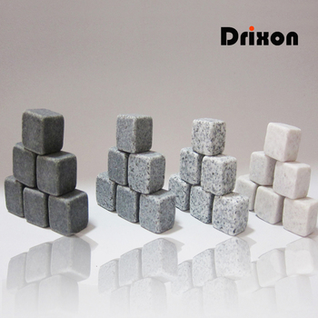 Drixon 100% Natural Whiskey Stones Sipping Ice Cube
