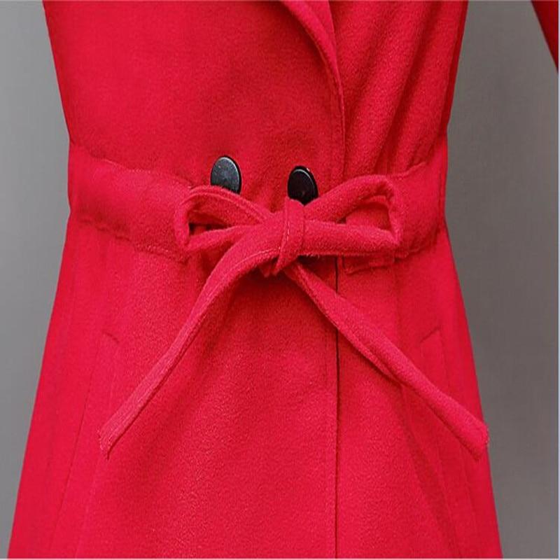 Vestido жаңа күзгі әйелдер пальтосы Жұқа - Әйелдер киімі - фото 6