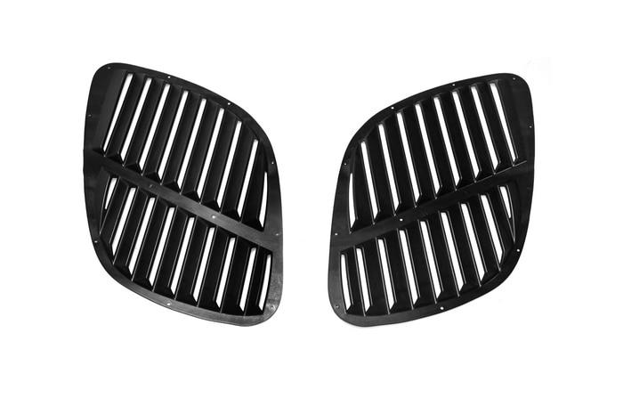Universal GTR Type ABS Plastic Hood Vent Tuning Front Cover Air Intake Duct Drift Kit For Skyline R32 R33 R34 R35 GTR GTT GTS