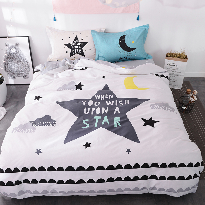 Popular Moon and Stars Bedding