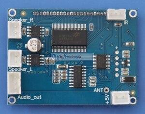 Image 4 - Dyko 76 108mhz digital fm stereo, módulo de receptor fm com rádio digital + tela lcd ir remoto 5w + 5w potência amplificador volume ajustável