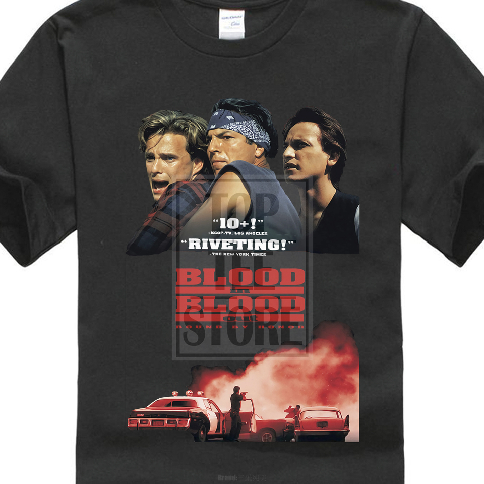 Bound By Honor Blood In Blood Out Movie Poster T Shirt Black All