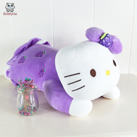 BOLAFYNIA Children Plush Stuffed Toy Hello Kitty Pillow Three Color Baby Kid Toy For Christmas Birthday
