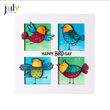 Julyarts Stamps and Dies for Card Making New Cutting Embossing 2018 Bird Cloud Metal Templates