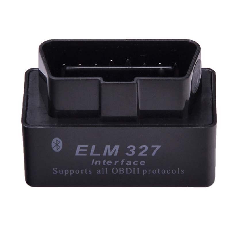 Prix pour Dernière Version V2.1 Super MINI ELM327 Bluetooth OBD OBD2 Sans Fil ELM 327 Multi-Langue Interface pour Android Couple/PC