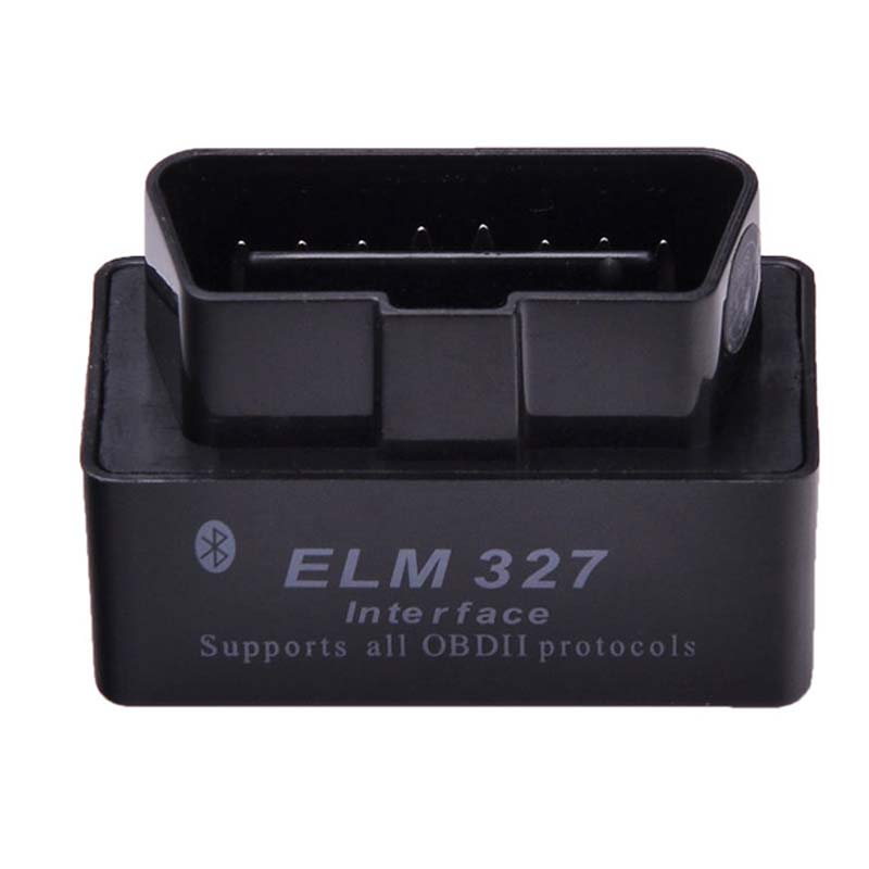 La última versión de V2.1 Super MINI ELM327 Bluetooth OBD OBD2 inalámbrico ELM 327 Multi-idioma interfaz para Android par/ PC