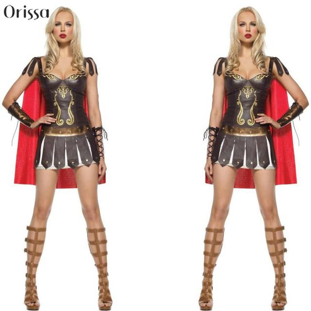Ladies Roman Greek Xena Gladiator Warrior Princess Roman Spartan ...